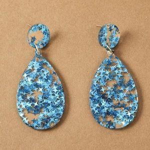 ⭕️ 3/$20! Star sparkle earrings